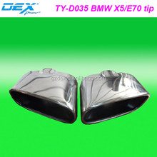 auto part racing exhaust muffler tip FOR BMW X5