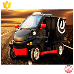 Electric Car small cargo trucks / vans made in china