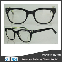 China supplier Different color acetate material frame eyewear manufacturer