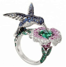 925 sterling silver animal world rings jewelry