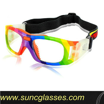 Nose protevtive sports basketball glasses