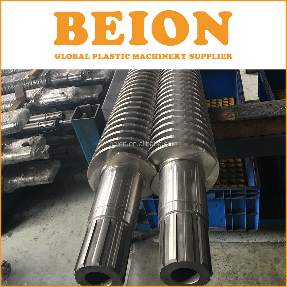 BEION Parallel Cylinder Twin Screw Barrel