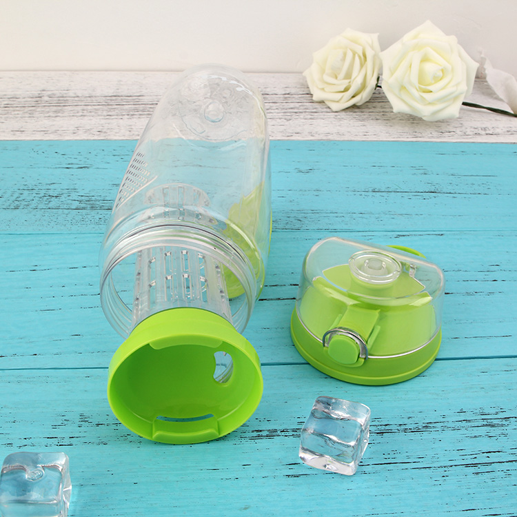 Hot sale alibaba big capacity contain fresh fruit,fruit infuser water bottle tritan plastic healthy fruit water bottle