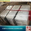 Good Quality modern guangxi white and grey vein marble for sale