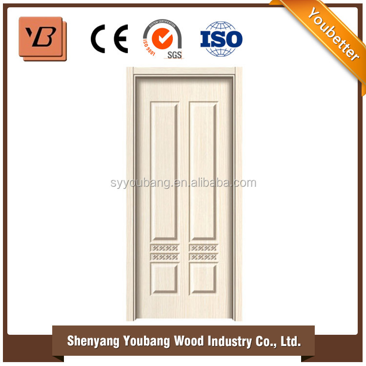 melamine paper faced HDF door skin with 700 color and different veneers