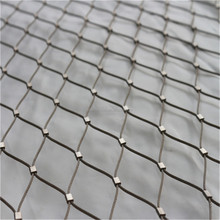 Corrosion Resistant and durable inox wire rope mesh net