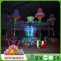 Amusement park cabin design beautiful jellyfish rides family