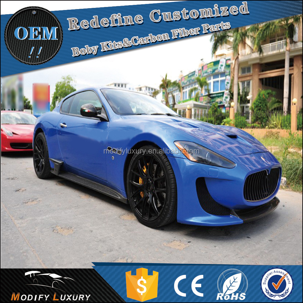 GT FRP Car Auto Parts Front Rear Bumper Body Kits for Maserati GT