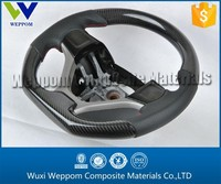 Customized Carbon Fiber Steering Wheel Cover