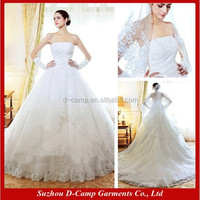 WD-1047 Strapless tulle and lace ball gown alibaba bridal gowns in guangzhou bridal gown 2015