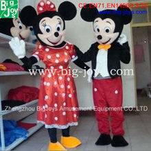 Mickey and Minnie mascot costume, custom mascot costume, mascot costumes China