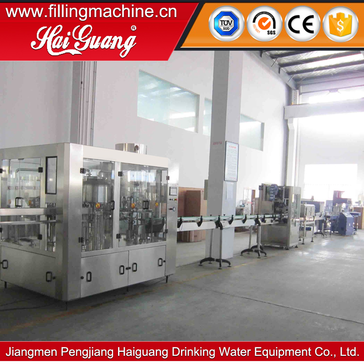 Chinese Factory Hot Sale bottle table water production line/monoblock bottle water equipment
