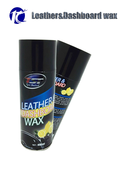 one of aerosol spray waxes to polish or clean car accessories like uphosteries and leathers named dashboard silicone