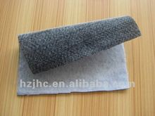 Needle punched nonwoven composite decking material for auto interior accessories part