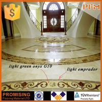 marble inlay floor pattern for house & hotel design and project