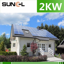 solar system 2kw 2000w kit with mppt charger controller