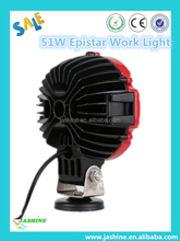 51W led working light, Best seller 3W Chip 51W led working light spot for trucks LED Work Light