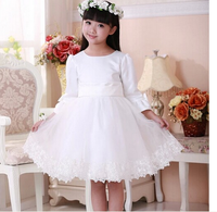 2015 hot fashiont latest dress design fashion comfortable beauty cotton long sleeve clothes little girl princess clothes