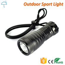 Underwater Dive Torch Professional Scuba Diving LED Flashlight