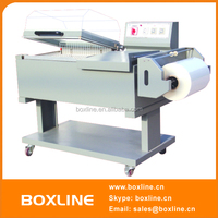 Manual shrink wrap machine for books
