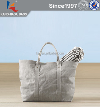 Naturl Open Extra Large Canvas Tote Bag Waterproof Beach Bag