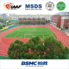 Guangzhou high quality outdoor polyurethane rubber athletic track manufacturer