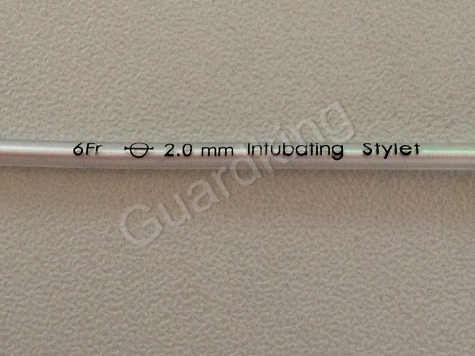 name list of products Intubation stylet guide catheters