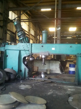 2500mm dish end flanging machine