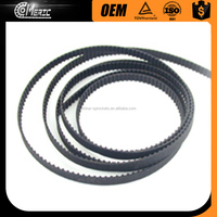 2017 Hot sell AT10/AT5/AT2/XL/HTD8M type Open PU Timing belt /Glass machinery timing belt