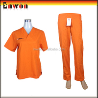 New Design Medical Chinese Collar Scrub Suit