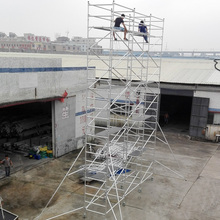 china supplier aluminum scaffold frame system