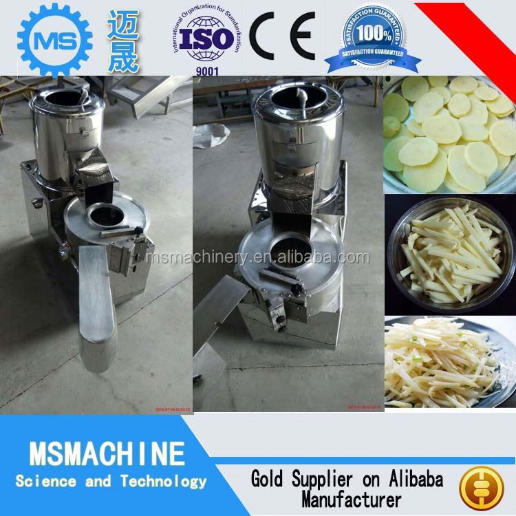 The latest commercial potato chips cutter