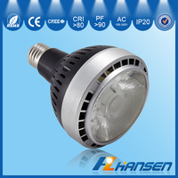 fitting room 35w 4inch IP20 Par30 E26/E27 CE ROHS certification spotlight