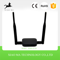 1000M range 2.4GHz High Power 300M USB Wireless Network Adapter with dual High Gain 5dBi Detachable Antenna XMR-ZJ-30