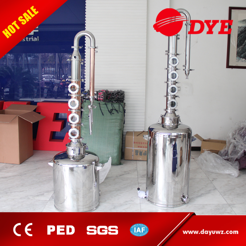200L DYE Hot Sale Micro Model home distillery equipment for whiskey,Rum