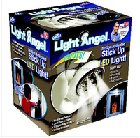 light angel motion sensor swivel led light