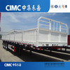 CIMC Tri-Axles Flat Bed Dropside Semi Trailer for Malawi