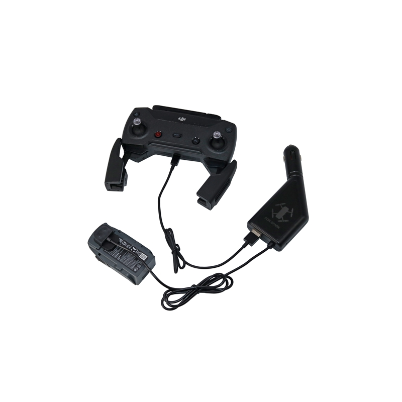 3 Port Car Charger For DJI SPARK Battery and Remote Controll,Portbale Fast Charger DJI Spark Drone Accessories and Spare Parts