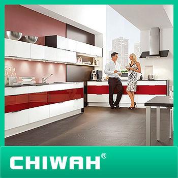 Gloss Modular Kitchen Cabinet Color Combinations - Buy Modular Kitchen ...