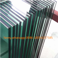 "Tempered Glass 1/2"" Railing 12mm Tempered Glass price for 1/2 inch"