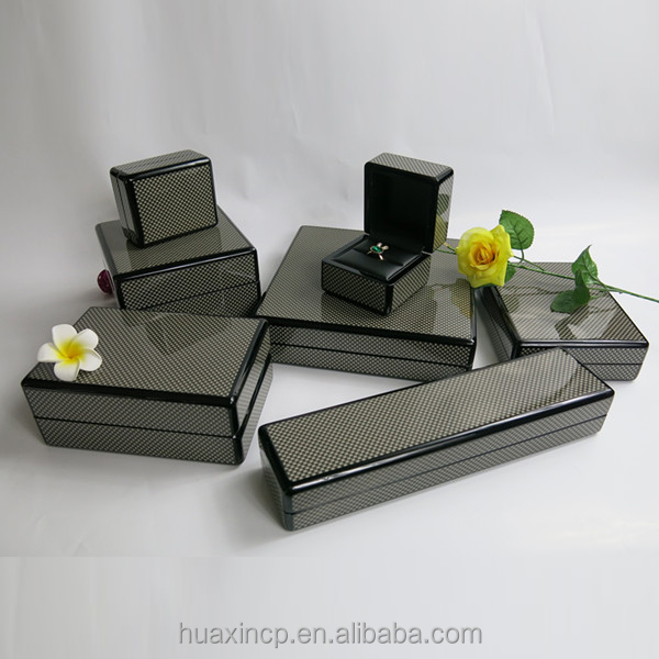 Carbon fiber luxury gift box packaging