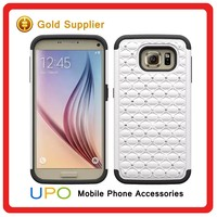 [UPO] Fancy Bling Diamond Plastic Silicon Cell Phone Case for Samsung Galaxy S7 Edge Plus
