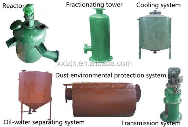 JZ High Quality Recycling Fuel Oil Line Recycling Machine