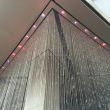 Modern Water Curtain Indoor Water Fountain Feature for Home Decoration