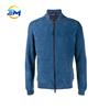 High quality classical blending cotton flight jacket for mens