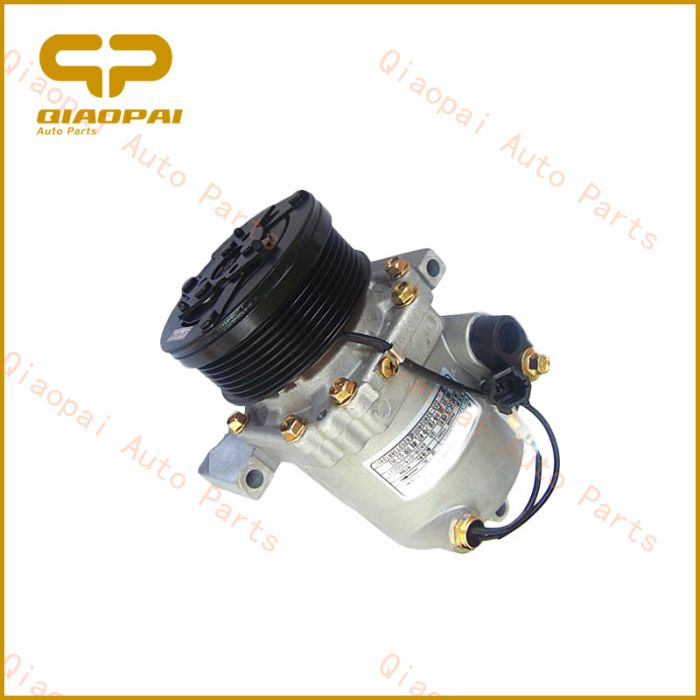Japanese model 12V 6PK clutch car AC Scroll Compressor