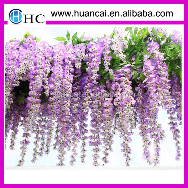 china artificial flowers cheap wholesale artificial flowers for wedding&party&festival&ceremony artificial wisteria flower