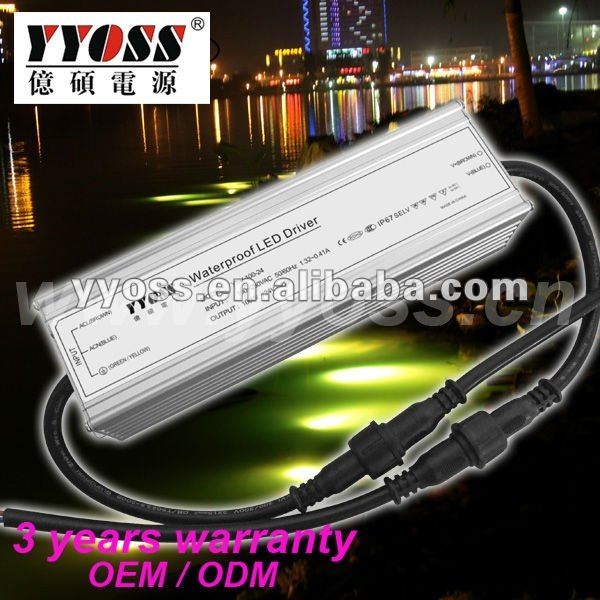 100W 24v 12v dc power supply 3 year warranty 91% efficiency
