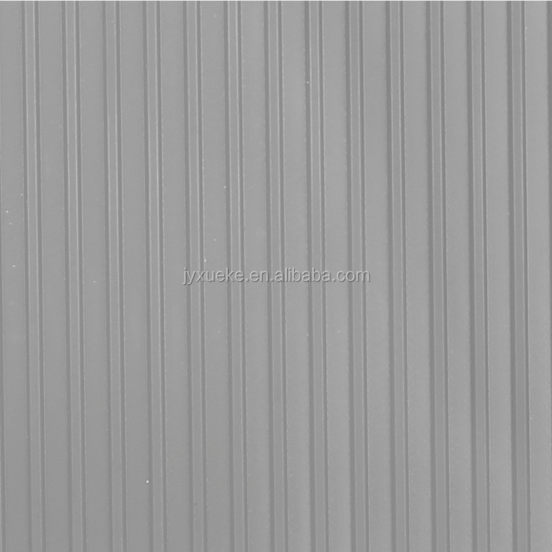 Ribbed Design PVC Car Garage Flooring