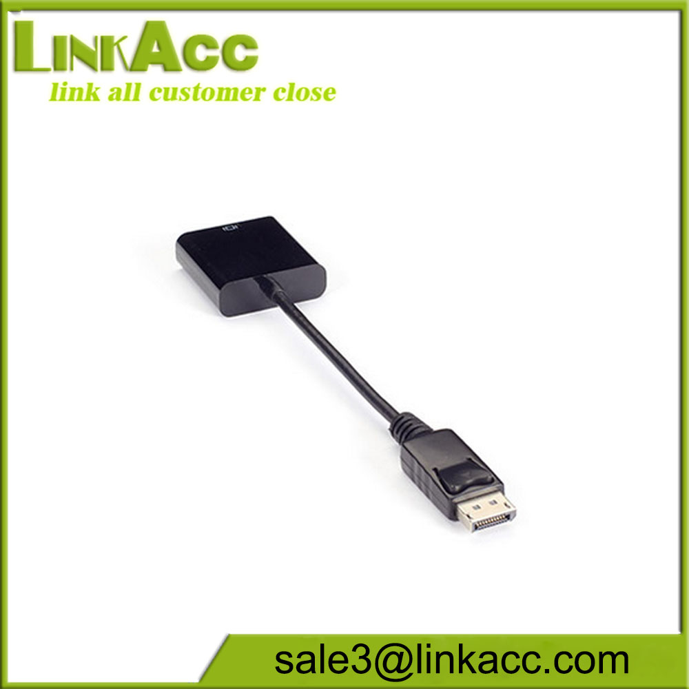 Video Adapter Dongle-DisplayPort Male to DVI-D Female, Active